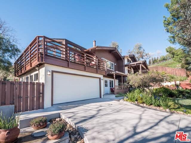21530 Saddle Peak Rd, Topanga, CA 90290 (#21-700178) :: Berkshire Hathaway HomeServices California Properties