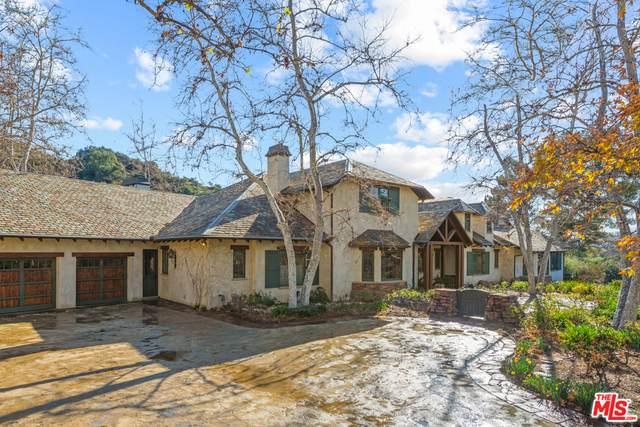 2662 Santa Maria Rd, Topanga, CA 90290 (#21-700908) :: Berkshire Hathaway HomeServices California Properties