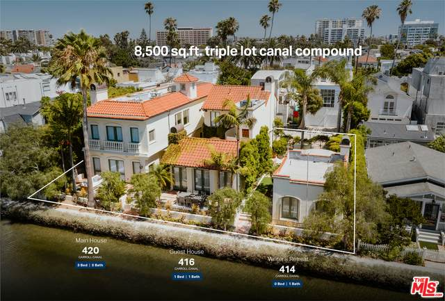 416 Carroll Canal, Venice, CA 90291 (#21-701438) :: The Suarez Team