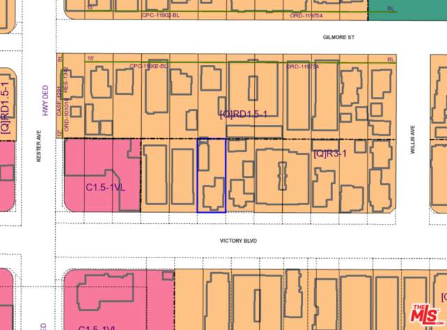 14833 Victory Blvd, Van Nuys, CA 91411 (#21-701780) :: TruLine Realty