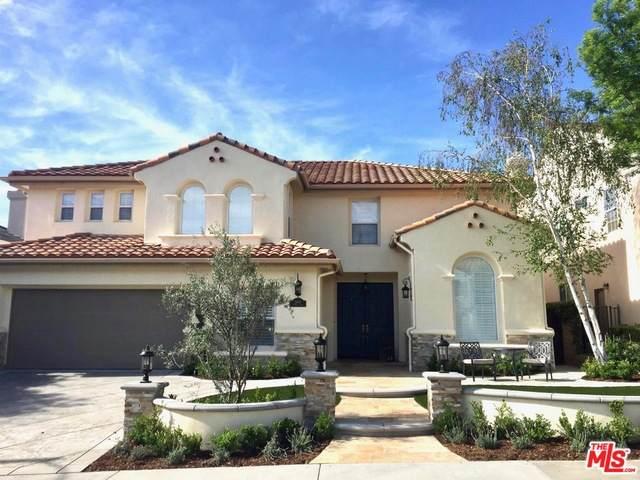 26810 Kendall Ln, Stevenson Ranch, CA 91381 (MLS #21-702902) :: The John Jay Group - Bennion Deville Homes