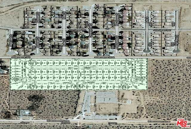 0 Stevens St, Adelanto, CA 92301 (MLS #21-707074) :: Hacienda Agency Inc
