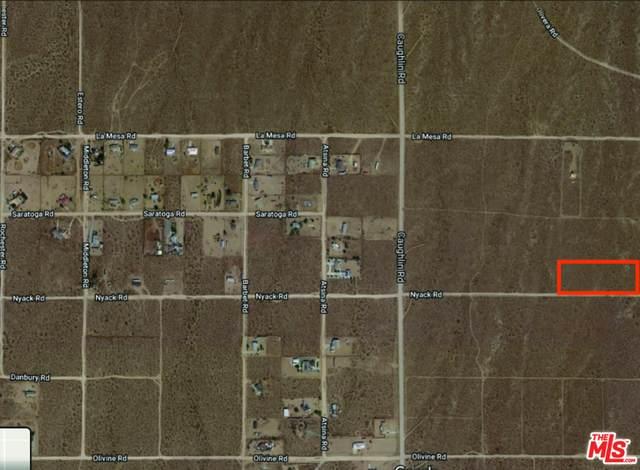 0 Nyack Rd, Victorville, CA 92392 (#21-708220) :: The Pratt Group