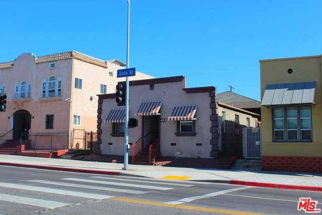 422 N Soto St, Los Angeles, CA 90033 (MLS #21-708992) :: The Jelmberg Team