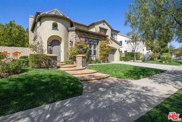 13891 Eaton Hollow Ave, Moorpark, CA 93021 (#21-710518) :: TruLine Realty