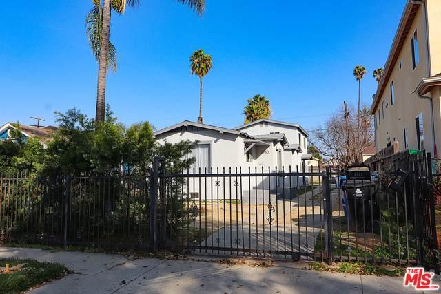 3950 Halldale Ave, Los Angeles, CA 90062 (MLS #21-712230) :: The Jelmberg Team