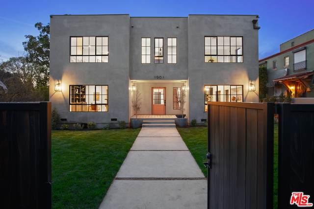1901 N Hobart Blvd, Los Angeles, CA 90027 (#21-712520) :: Compass