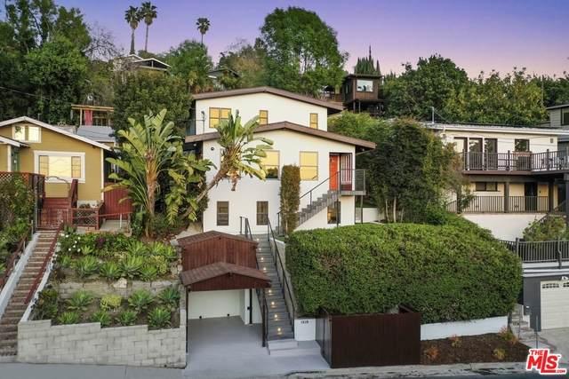 1518 Sanborn Ave, Los Angeles, CA 90027 (#21-714400) :: Compass