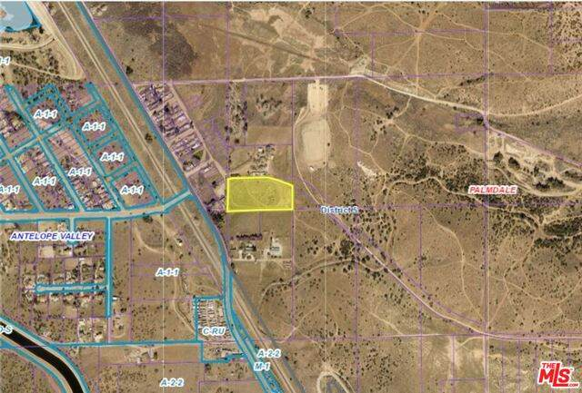 0 Vac/Barrel Springs Rd/Ha, Palmdale, CA 93550 (#21-716932) :: The Pratt Group