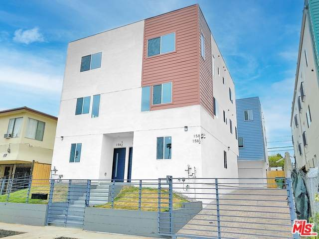 156 N Mariposa Ave, Los Angeles, CA 90004 (MLS #21-718688) :: The John Jay Group - Bennion Deville Homes