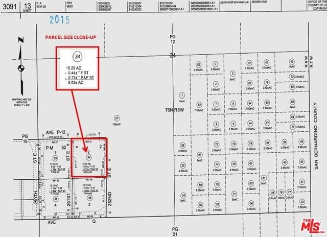 0 252 St. E And P-12 St, Palmdale, CA 93591 (#21-718932) :: Randy Plaice and Associates