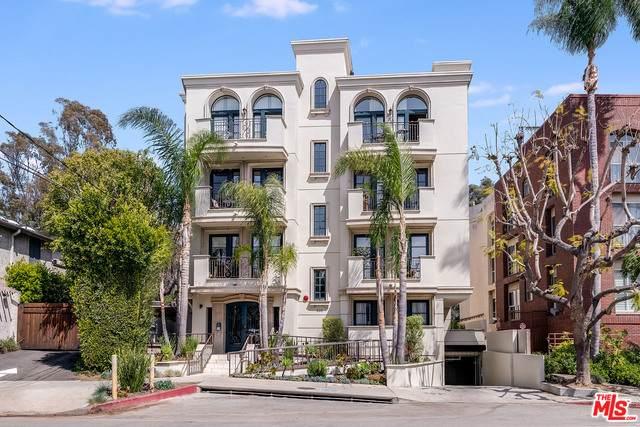 400 S Barrington Ave #202, Los Angeles, CA 90049 (MLS #21-719268) :: The John Jay Group - Bennion Deville Homes