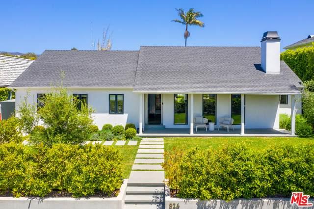 826 Alma Real Dr, Pacific Palisades, CA 90272 (#21-719292) :: Randy Plaice and Associates