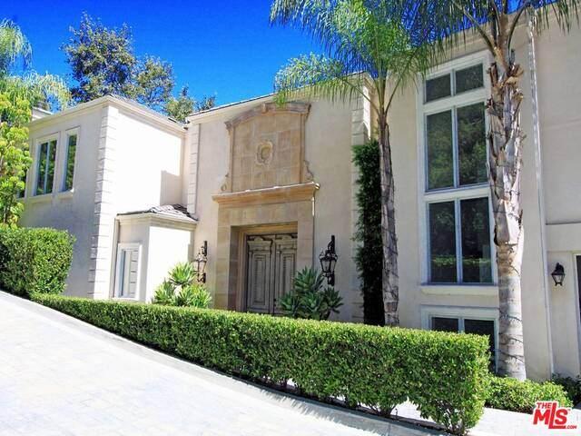 14435 Mulholland Dr, Los Angeles, CA 90077 (MLS #21-719366) :: The John Jay Group - Bennion Deville Homes