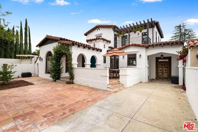 4424 Ponca Ave, Toluca Lake, CA 91602 (#21-720912) :: Berkshire Hathaway HomeServices California Properties