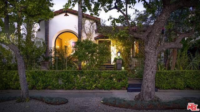 410 N Harper Ave, Los Angeles, CA 90048 (#21-721340) :: The Pratt Group