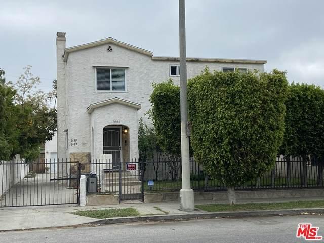 1448 S Redondo Blvd, Los Angeles, CA 90019 (#21-721456) :: The Pratt Group