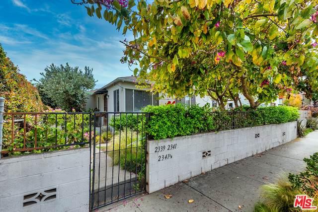 2339 Abbot Kinney Blvd, Venice, CA 90291 (#21-723950) :: Berkshire Hathaway HomeServices California Properties
