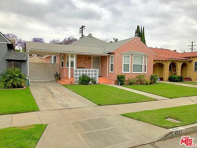 4247 11Th Ave, Los Angeles, CA 90008 (#21-725320) :: The Pratt Group