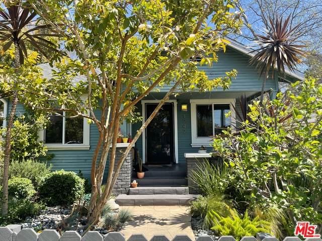 1242 N Commonwealth Ave, Los Angeles, CA 90029 (#21-725744) :: The Pratt Group