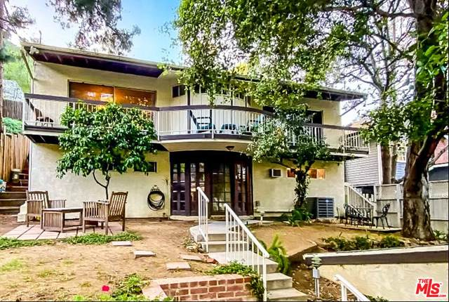 8665 Lookout Mountain Ave, Los Angeles, CA 90046 (#21-726016) :: Compass