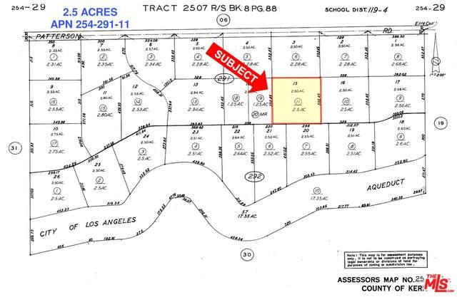 1 Patterson Rd, Rosamond, CA 93560 (#21-727744) :: Montemayor & Associates