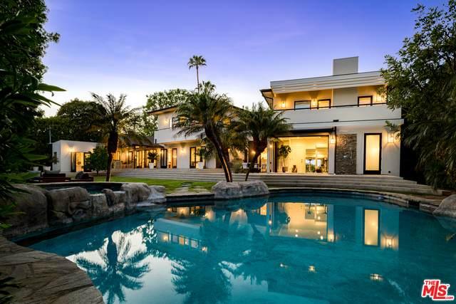 1201 Villa Woods Dr, Pacific Palisades, CA 90272 (#21-728142) :: Berkshire Hathaway HomeServices California Properties
