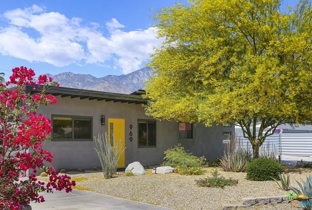 969 S Paseo Caroleta, Palm Springs, CA 92264 (MLS #21-728370) :: The John Jay Group - Bennion Deville Homes