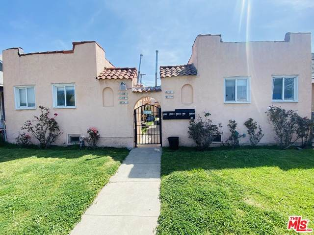 5414 Denker Ave, Los Angeles, CA 90062 (#21-728418) :: Montemayor & Associates
