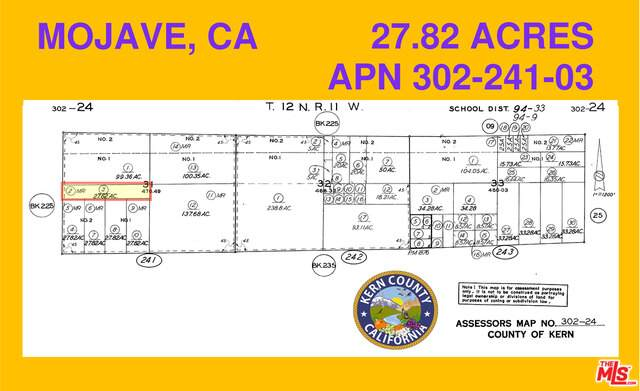 2000 E Snake, Mojave, CA 93501 (#21-729220) :: The Pratt Group