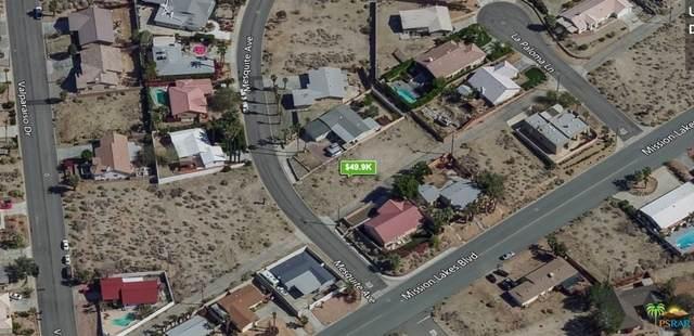 Mesquite Ave, Desert Hot Springs, CA 92240 (MLS #21-730950) :: The Jelmberg Team