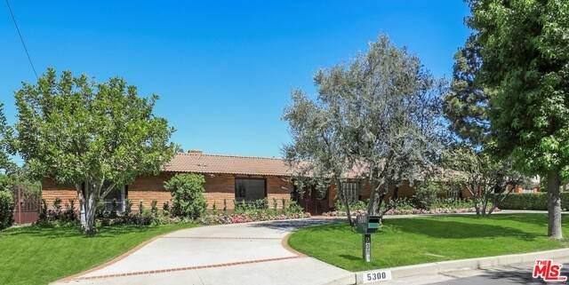 5300 Oak Park Ave, Encino, CA 91316 (#21-732628) :: Montemayor & Associates