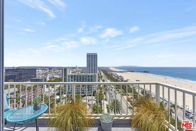101 California Ave #1401, Santa Monica, CA 90403 (#21-734292) :: TruLine Realty