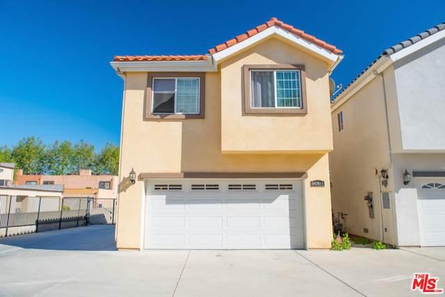 8425 Burnet Ave #1, North Hills, CA 91343 (#21-734432) :: The Pratt Group