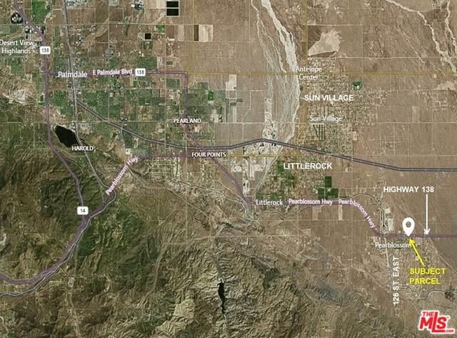 0 126 E And Pearblossom Highway 138, Pearblossom, CA 93553 (#21-736624) :: Randy Plaice and Associates
