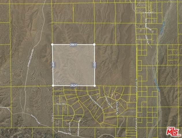 0 223 St. E And Ave. Z-10, Llano, CA 93544 (#21-737178) :: Randy Plaice and Associates
