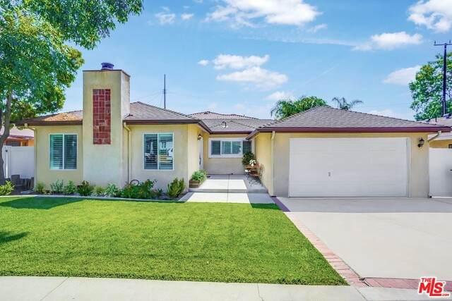 10656 Aldea Ave, Granada Hills, CA 91344 (#21-738538) :: The Pratt Group