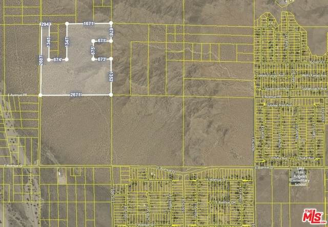 0 145th St. E And Avenue P-8, Palmdale, CA 93591 (#21-740400) :: The Pratt Group