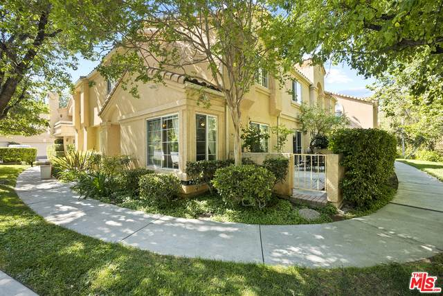 25210 Steinbeck Ave A, Stevenson Ranch, CA 91381 (#21-743614) :: The Pratt Group