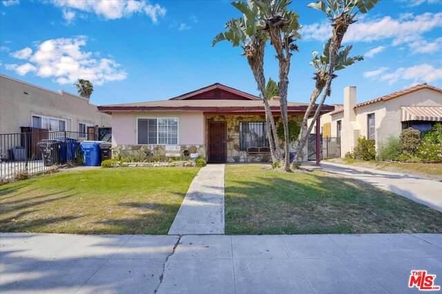 1641 W 70Th St, Los Angeles, CA 90047 (#21-745766) :: The Pratt Group