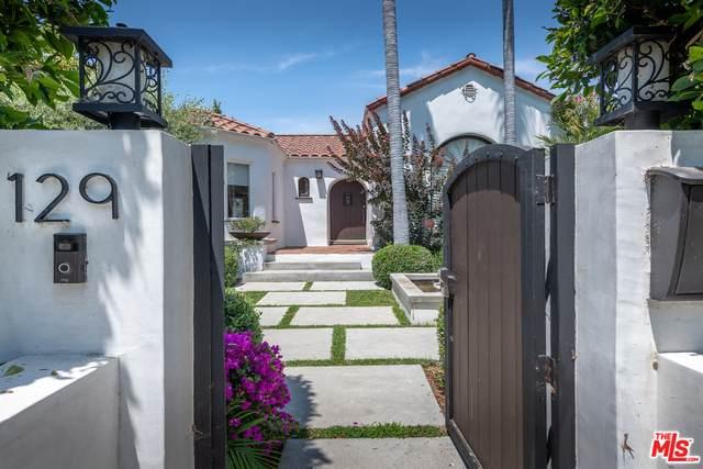 129 N Crescent Heights Blvd, Los Angeles, CA 90048 (MLS #21-745904) :: The Sandi Phillips Team