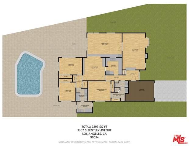 3307 S Bentley Ave, Los Angeles, CA 90034 (#21-746108) :: Berkshire Hathaway HomeServices California Properties