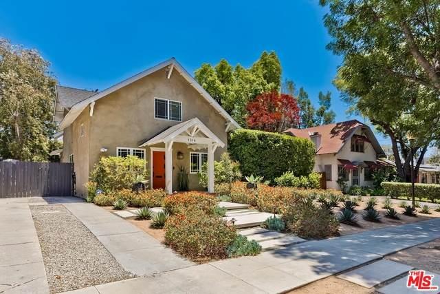 1316 N Cherokee Ave, Los Angeles, CA 90028 (#21-746808) :: Angelo Fierro Group | Compass