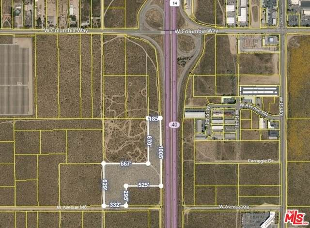 0 Highway 14 And Avenue M-8, Palmdale, CA 93551 (#21-747830) :: Angelo Fierro Group | Compass