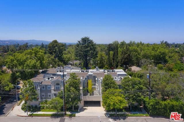 5101 Whitsett Ave #103, Valley Village, CA 91607 (#21-748436) :: The Pratt Group
