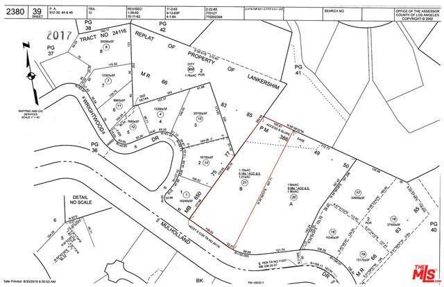 7837 Mulholland, Studio City, CA 90046 (#21-748490) :: Berkshire Hathaway HomeServices California Properties