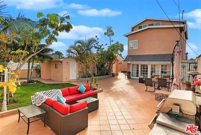 3612 Tuller Ave, Los Angeles, CA 90034 (#21-748646) :: Berkshire Hathaway HomeServices California Properties