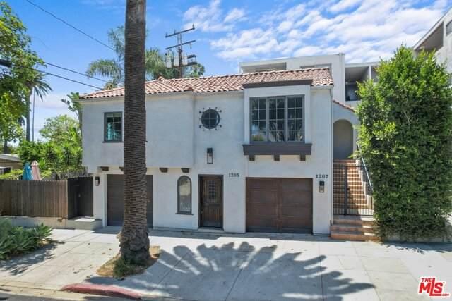 1205 N Spaulding Ave, West Hollywood, CA 90046 (#21-748944) :: Montemayor & Associates