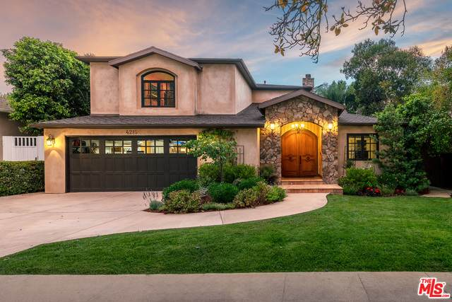 4215 Ventura Canyon Ave, Sherman Oaks, CA 91423 (#21-749156) :: The Pratt Group