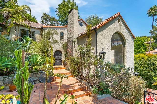 3308 N Knoll Dr, Los Angeles, CA 90068 (#21-749520) :: Berkshire Hathaway HomeServices California Properties
